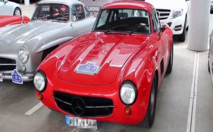 Mercedes-Benz 300 SL Gullwing от AMG в тюнинге 1974 года