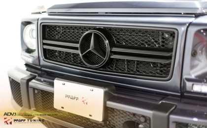 Mercedes-Benz G63 AMG от Pfaff Tuning