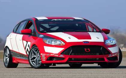 Концерн Ford показал прототип гоночного 'Фокуса'