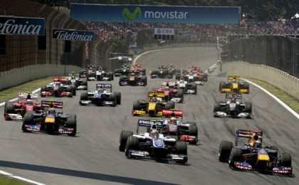 Пилоты Red Bull сделали дубль на Гран-при Бразилии