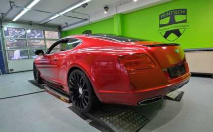 Bentley Continental GT в тюнинге Print Tech