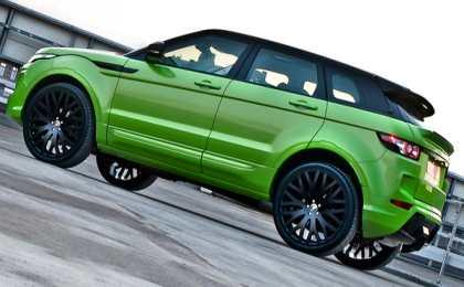 Range Rover Evoque Green Pearl от А. Kahn Design