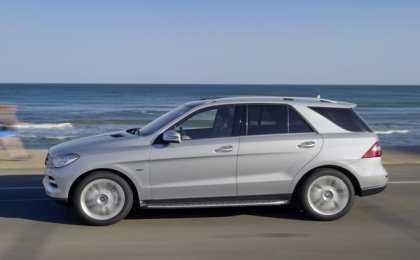 Mercedes-Benz презентовал M-Class Special Edition