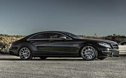 Mercedes-Benz CLS63 AMG в обвесе Vorsteiner