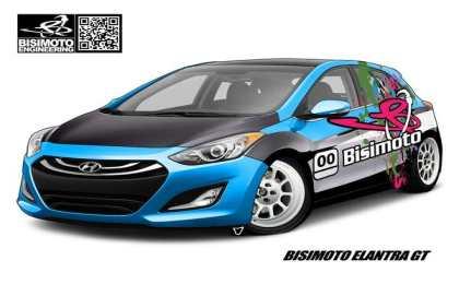 600-сильный Hyundai Elantra GT от Bisimoto