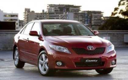 Toyota занялась разработкой нового поколения Camry