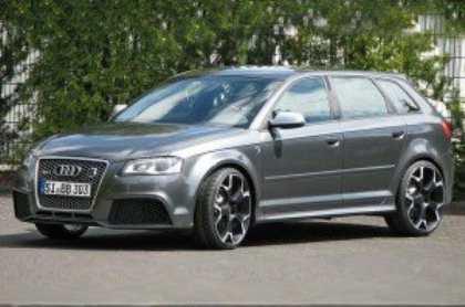 Немецкая компания B&B увеличит мощность Audi RS3