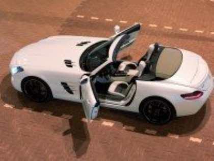 Новый родстер Mercedes-Benz SL «наденет» алюминиевый кузов