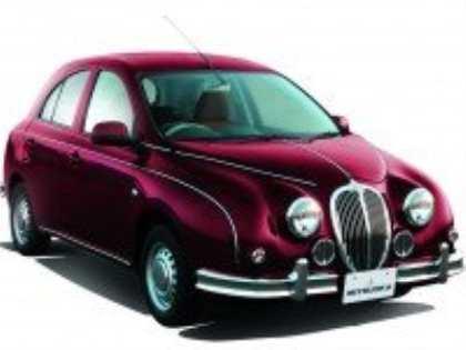 Компания Mitsuoka представила последнее поколение эксцентричного седана Viewt Mk3