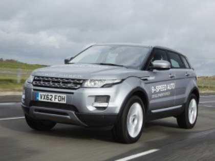 Land Rover предложит автоматические коробки передач с 9-ю ступенями