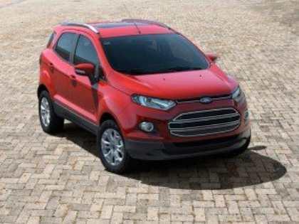 Новый кроссовер Ford EcoSport – сочетание динамики, комфорта и экономичности