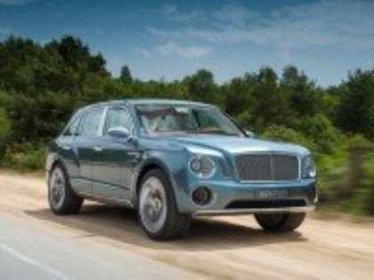 Концептуальный кроссовер Bentley EXP 9 F критики не боится
