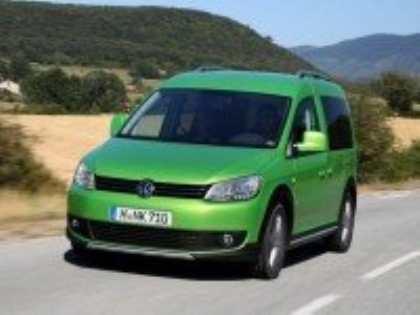 Популярный минивэн Volkswagen Caddy теперь имеет внедорожное исполнение