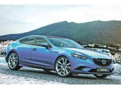 На базе седана Mazda6 нового поколения будет разработано купе
