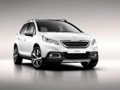 Компания Peugeot показала первые фото компактного кроссовера 2008