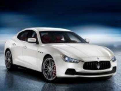 На автосалоне в Шанхае дебютировал новый седан Maserati