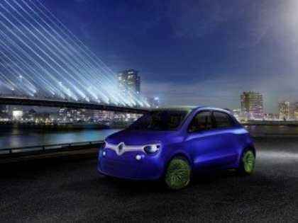 Компания Renault опубликовала первую информацию о концепте Twin`Z