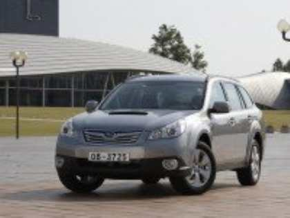 Компания Subaru представит на автосалоне в Нью-Йорке обновленные модели Legacy и Outback