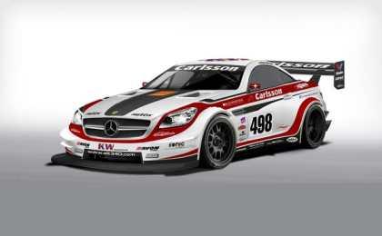 Carlsson представил гоночный болид SLK 340 JUDD