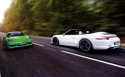 TECHART доработал Porsche 911 Carrera 4S