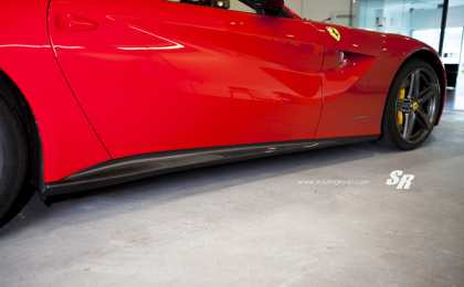 Ferrari F12 Berlinetta от PUR Wheels и SR Auto