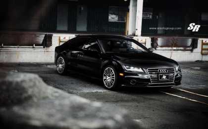 SR Auto снабдило Audi A7 дисками PUR Wheels