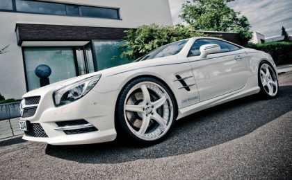 Mercedes-Benz SL 500 в тюнинге Graf Weckerle