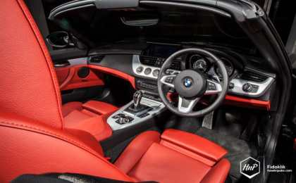 BMW Z4 в легком индонезийском тюнинге
