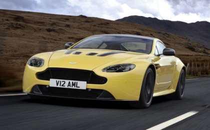 Aston Martin анонсировал V12 Vantage S 2014