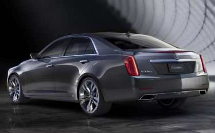 Cadillac официально представил новый седан CTS