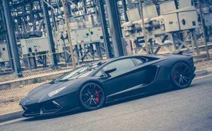 Lamborghini Aventador LP700-4 с дисками Forgiato