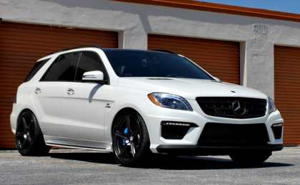 Mercedes-Benz ML63 AMG от HRE Wheels