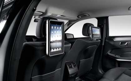 Mercedes представил свежие аксессуары для E-Class