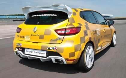 Renault Clio Cup - первые официальные данные