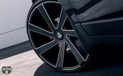 Chevrolet Acadia на 24-дюймовых дисках DUB Wheels