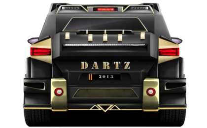 Dartz Black Snake - внедорожник за 1 000 000$
