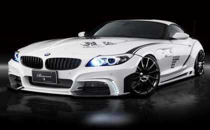 BMW Z4 White Wolf в тюнинге Rowen Japan