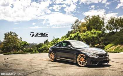 TAG Motorsports настроил BMW M4 Coupe