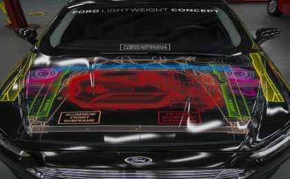 Ford построил концепт Lightweight на основе седана Fusion