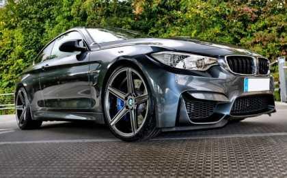 BMW M4 Coupe в легкой доработке mbDESIGN