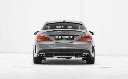 Brabus доработал четырехдверное купе Mercedes-Benz CLA 45 AMG