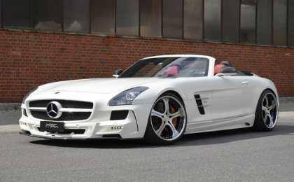 Mercedes-Benz SLS AMG в исполнении MEC Design