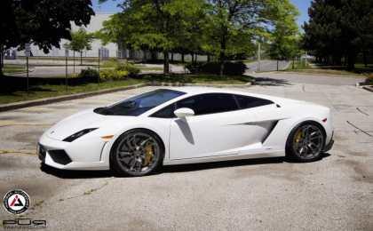 Lamborghini Gallardo на дисках PUR Wheels от Inspired Autosport
