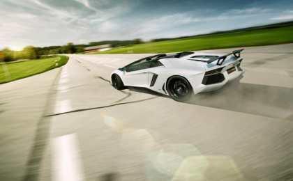 Lamborghini Aventador LP700-4 Roadster от Novitec Torado