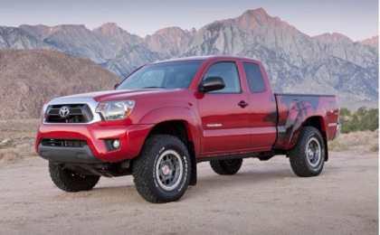 Toyota анонсировала цены на Tacoma TRD