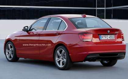 BMW подумывает над заряженным седаном 1-Series