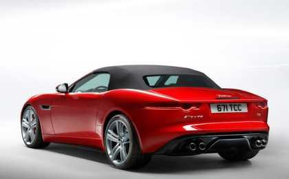 Jaguar официально представил родстер F-Type