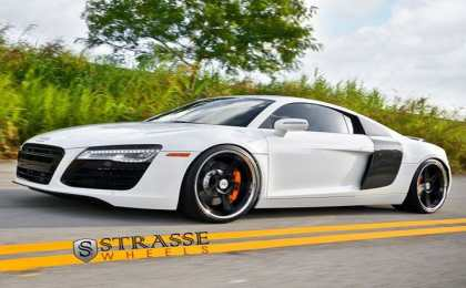 Strasse Wheels «обул» Audi R8 в диски SP5R