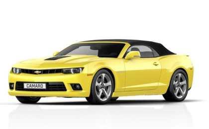 Chevrolet показал Camaro Convertible 2014