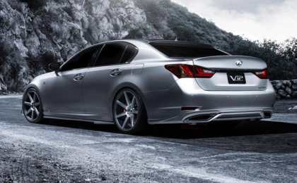 Lexus представит компрессорный GS 350 F SPORT